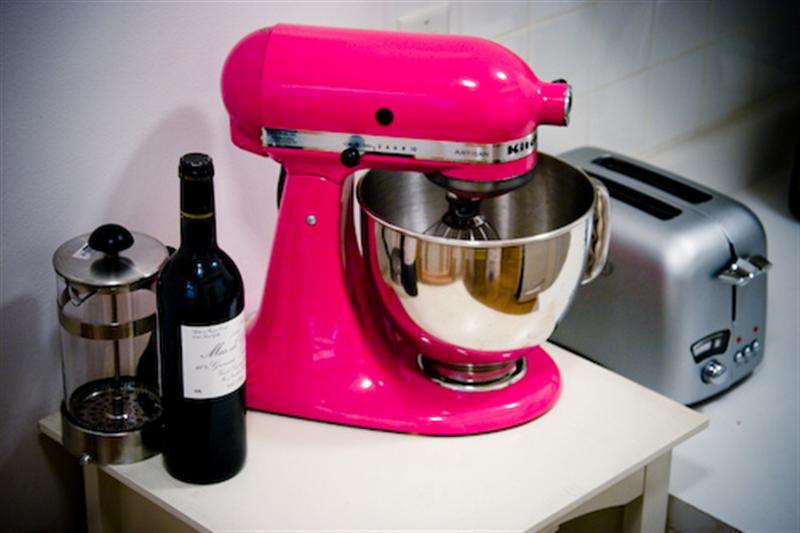 fel roze kitchen aid