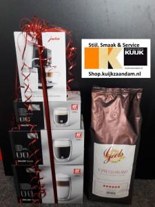 Special koffiepakket bij aankoop van de Jura Z6 en Z8, genieten met Kuijkzaandam.nl